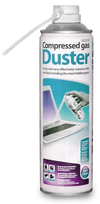 high pressure air duster aerosol can for cleaning computer and electronic e. Black Bedroom Furniture Sets. Home Design Ideas