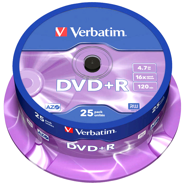 verbatim 16x dvd r branded blank dvds 4 7gb 43500. Black Bedroom Furniture Sets. Home Design Ideas