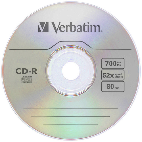 Verbatim Extra Protection 52x Cd R 700mb 80 Minute