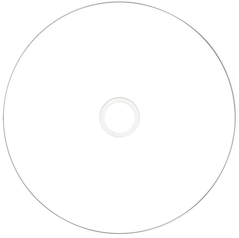photo regarding Printable Dvd Disc named Verbatim 16x Broad / Complete Experience Inkjet Image Printable DVD-R 50 Blank Discs - 120 Minutes 4.7GB / DVD Minus R - No Identification - 43533