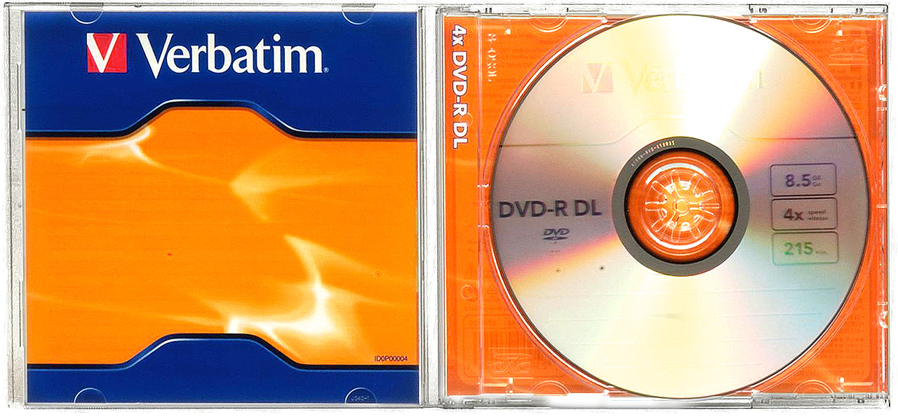 verbatim 4x 8 5gb dvd r dl dual layer 5 blank discs in. Black Bedroom Furniture Sets. Home Design Ideas