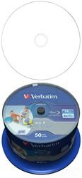 verbatim 25gb datalife 6x bd r   full face wide printable