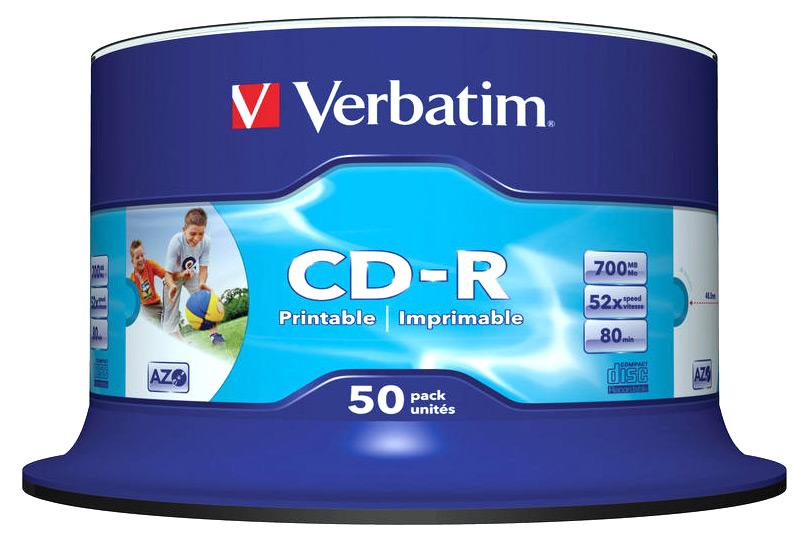 Selective image within cd r printable