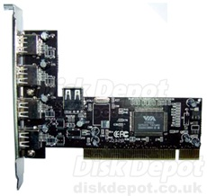 PCI USB Card From Sumvision USB 2.0